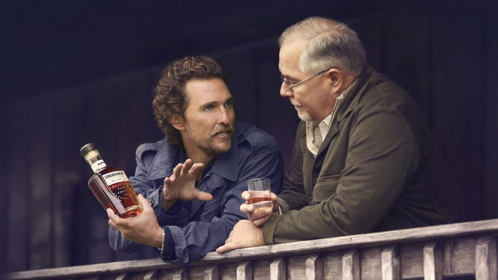 Matthew McConaughey and Eddie Russell launch Wild Turkey Longbranch