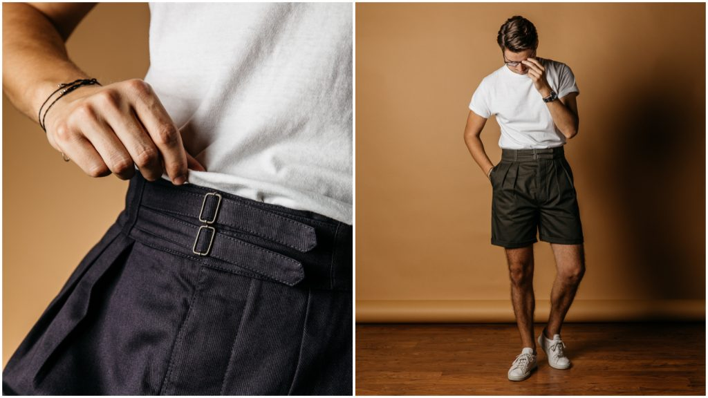 Steve Calder Informale Shorts