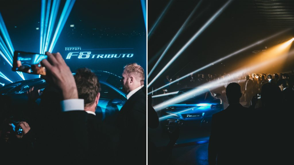 F8 Tributo Launch